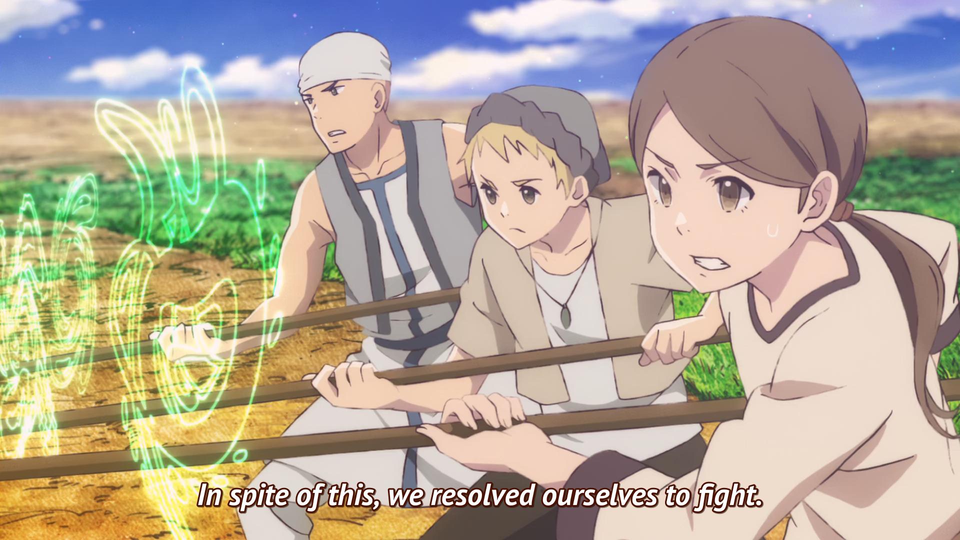 Anime Wallpaper Axe Ouni Children Of The Whales Wallpaper