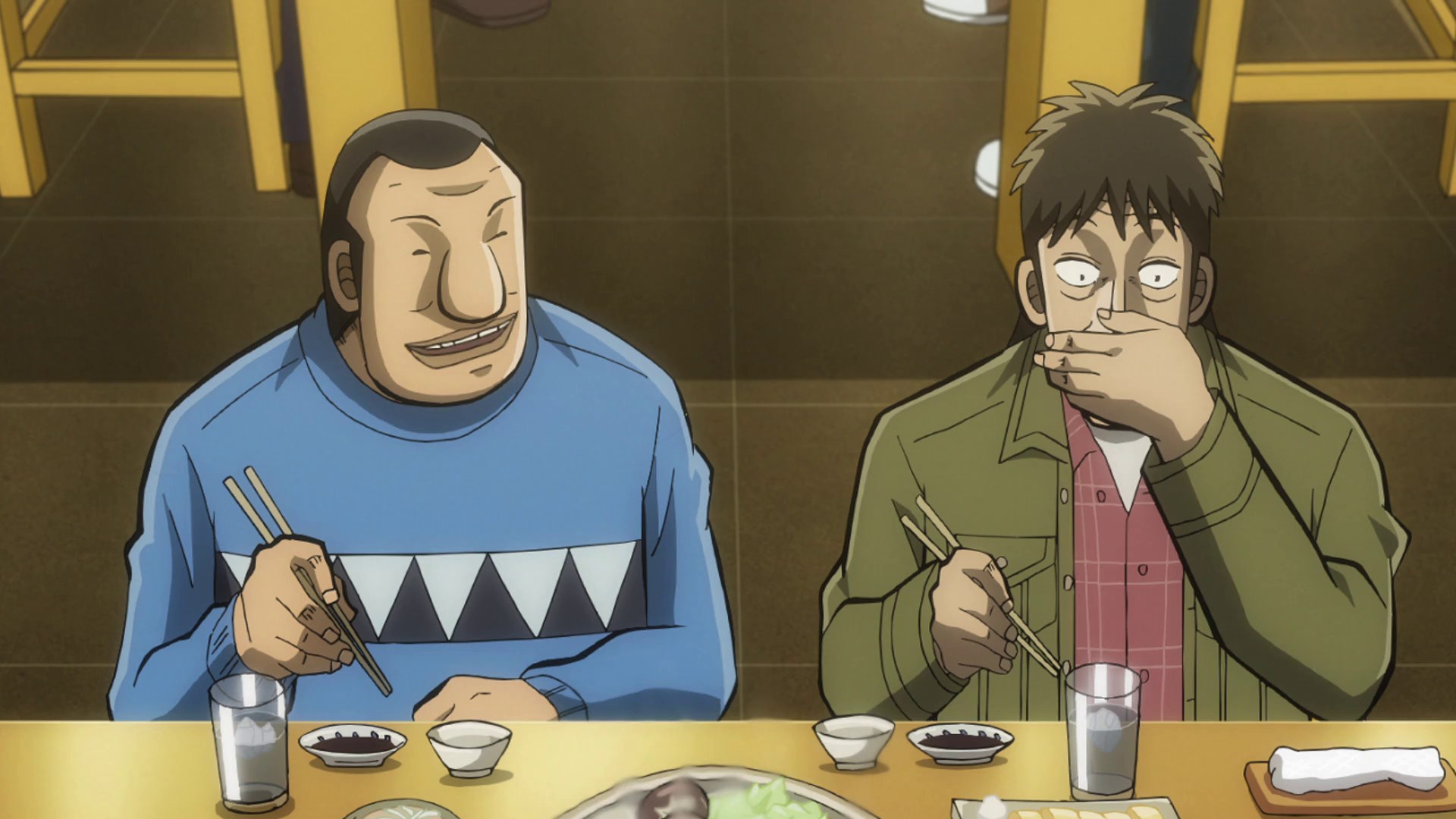 Chuukan Kanriroku Tonegawa.Screenshot